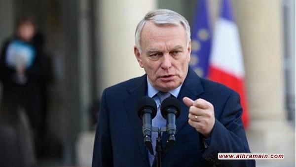 أثناء الإجتماع قال وزير الخارجية الفرنسي ان الإتفاق النووي الدولي مع إيران هو لمصلحة السلام في كل العالم